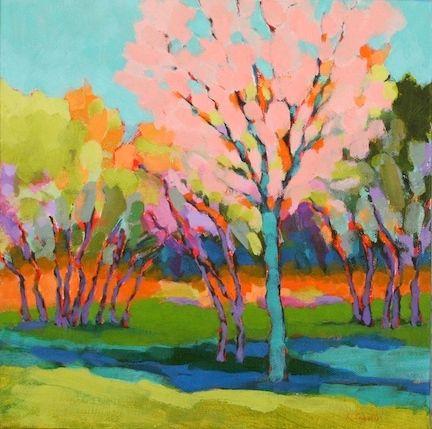 Spring Karen Lynn Ingalls Contemporary Art Art Painting Art Colorful Art