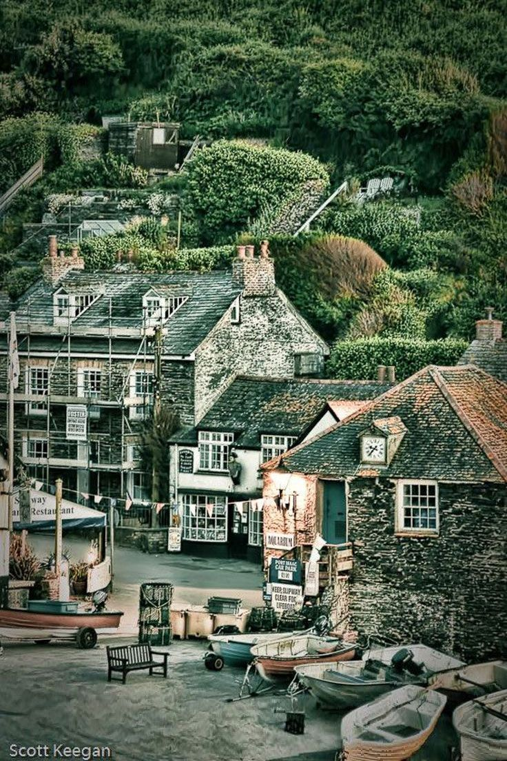 Port Isaac - lovely restaurants, great shops, tiny streets and delicious fish.