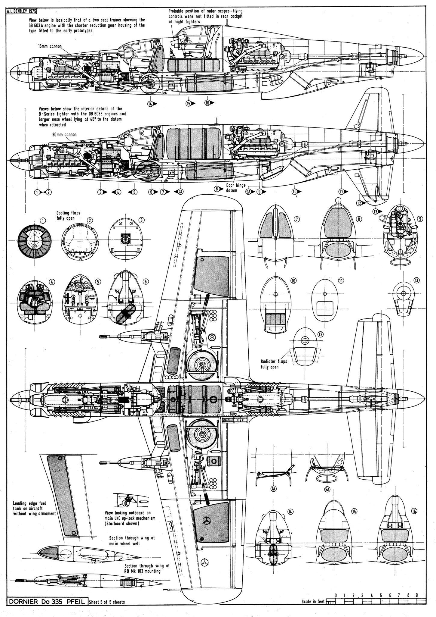The Dornier Do 335 Pfeil Arrow Was A World War Ii