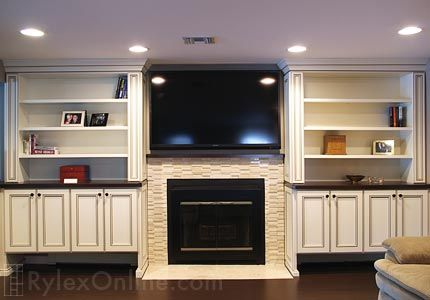 Fireplace Surround With Shelving Dream Home Fireplace