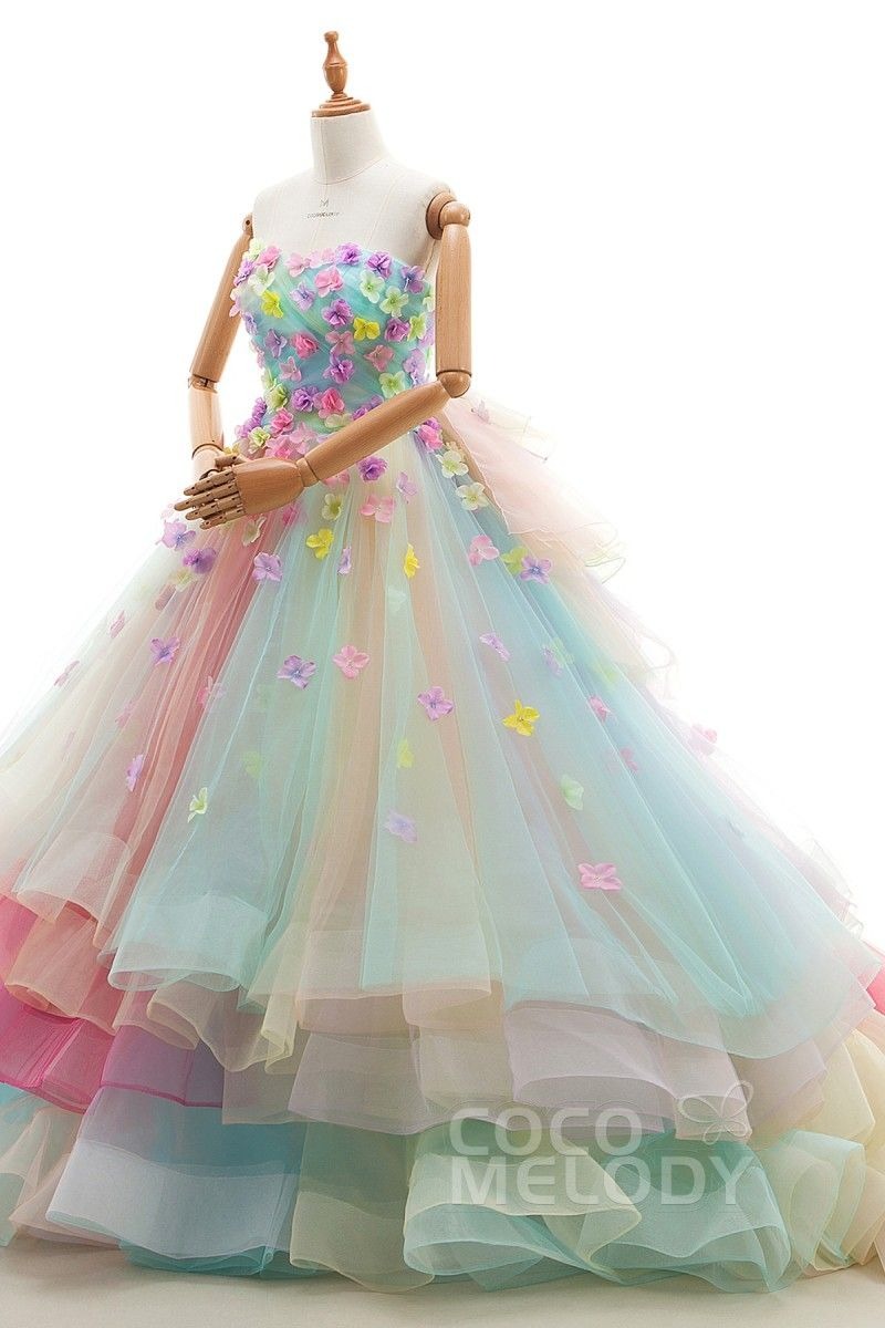 1c849ccbf122 Masquerade Ball Gowns, Rainbow Outfit, Cute Dresses, Beautiful Dresses,  Quinceanera, Homecoming