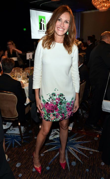 The Perfect Work Party Shift Dress, Courtesy of Julia Roberts