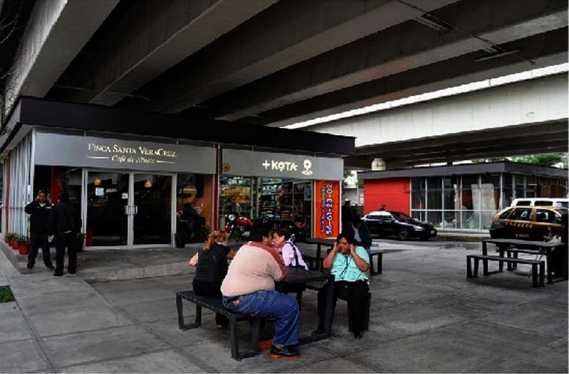 Bajo Puentes Program Turns Vacant Lots Under Freeways into Prized Public Spaces  Mexico Citys Bajo Puentes Program Turns Vacant Lots Under Freeways into Prized Public Spa...