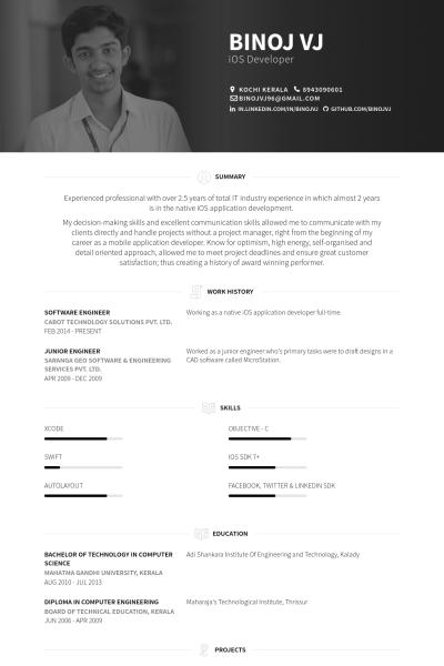 Software Ingenieur Lebenslauf Vorlage Beispiele 2019 Resume Templates Click Picture For Mo Professional Resume Samples Resume Software Best Resume Format