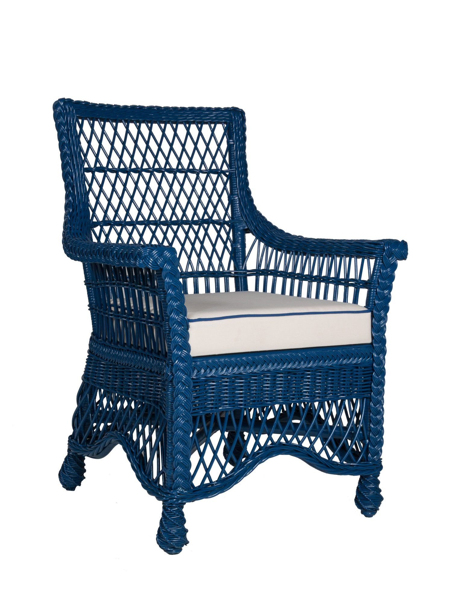 Easton Wicker Dining Arm Chair | Dining arm chair ...