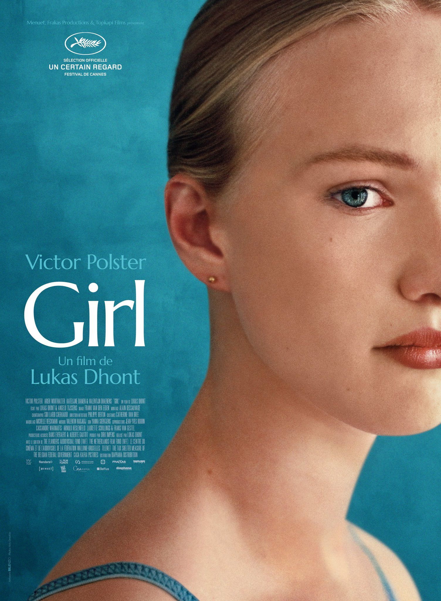 Girl by Lukas Dhont #Cannes2018 Un Certain Regard. Poster.