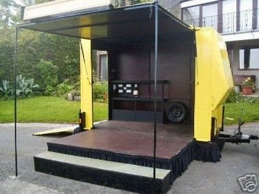trailer stage   Makai - Portable Stage Options   Portable