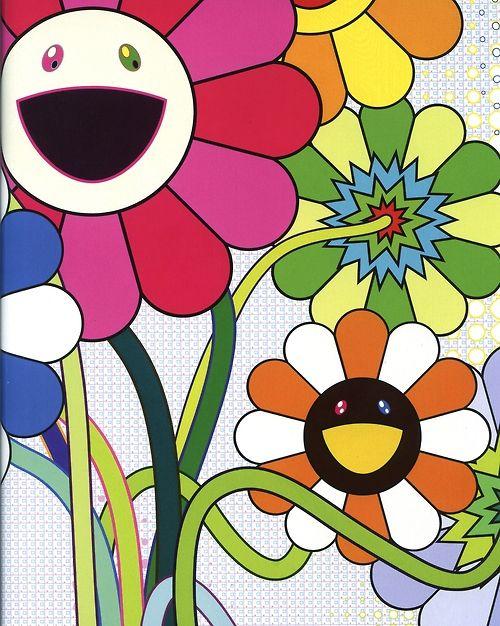 Takashi Murakami Widewalls Urban Contemporary Art Resource Murakami Flower Takashi Murakami Murakami