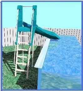 summit usa safari swimming pool slides for above ground pools pool slides for above ground pools - Diy Above Ground Pool Slide