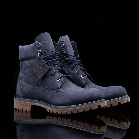 Pin by Uche Chuma on fashion | Boots, Blue timberland boots