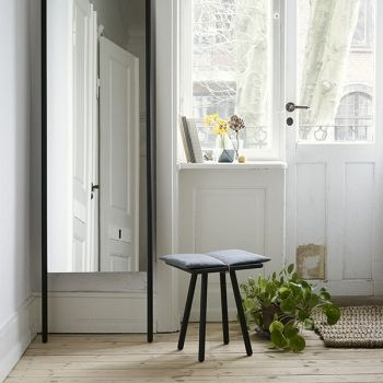 skagerak georg mirror black mirrors decoration finnish design shop