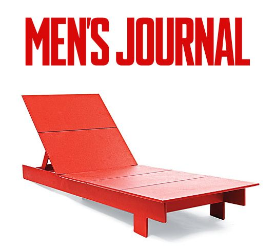 Mens Journal   Gear Lab: The Greener, More Comfortable Outdoor Lounge Chair  By Loll