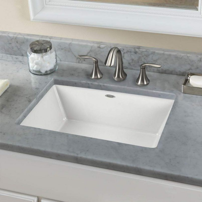 Bathroom Large Rectangular Undermount Bathroom Sink Lav Sink Small