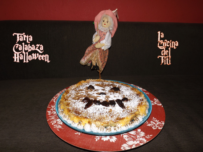 Tarta Calabaza para Halloween