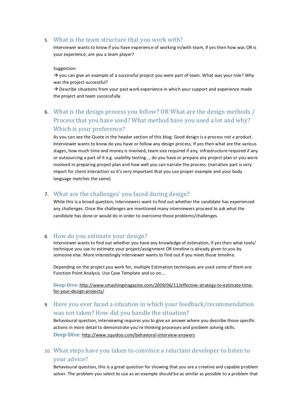 User Experience Interview Questions This Or That Questions Interview Questions Interview