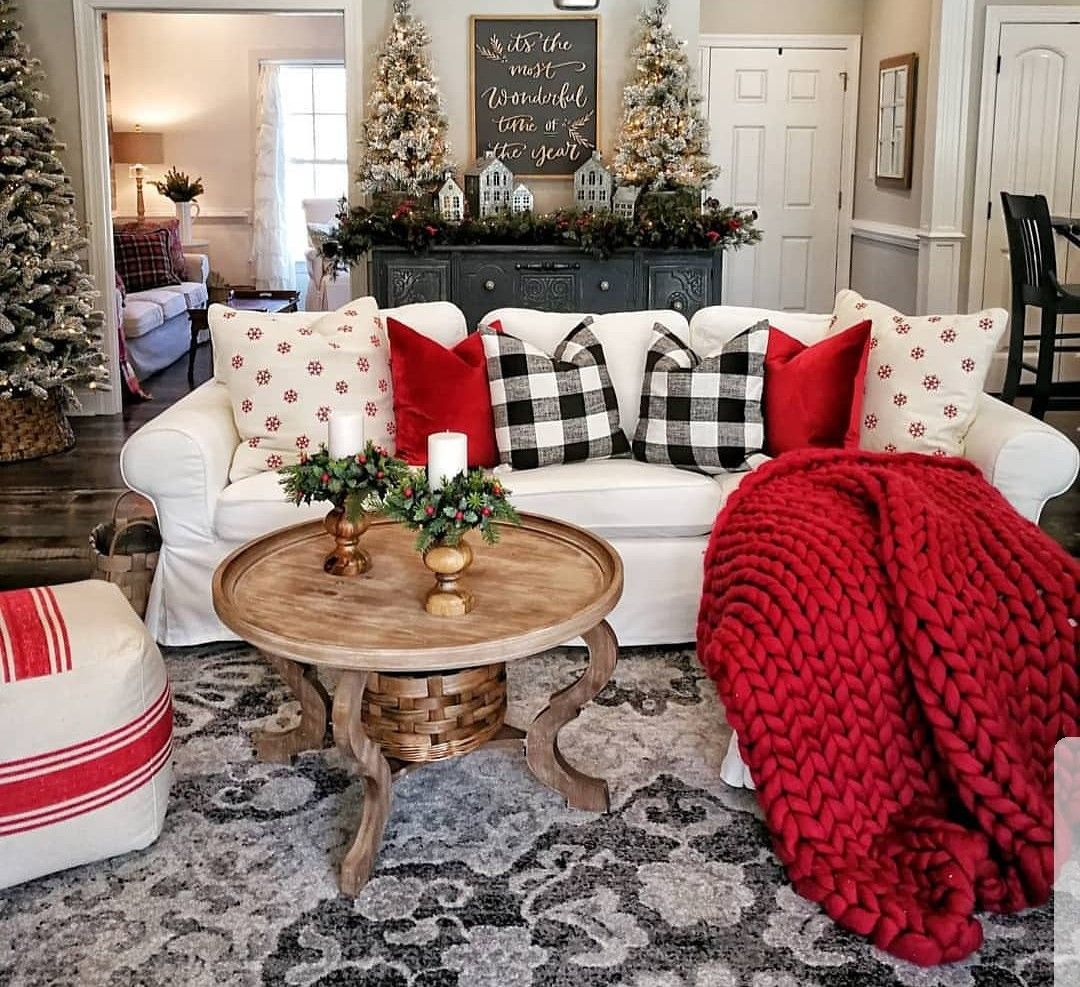 Idea by Sherri Mahoney on Living Rooms | Christmas ...
