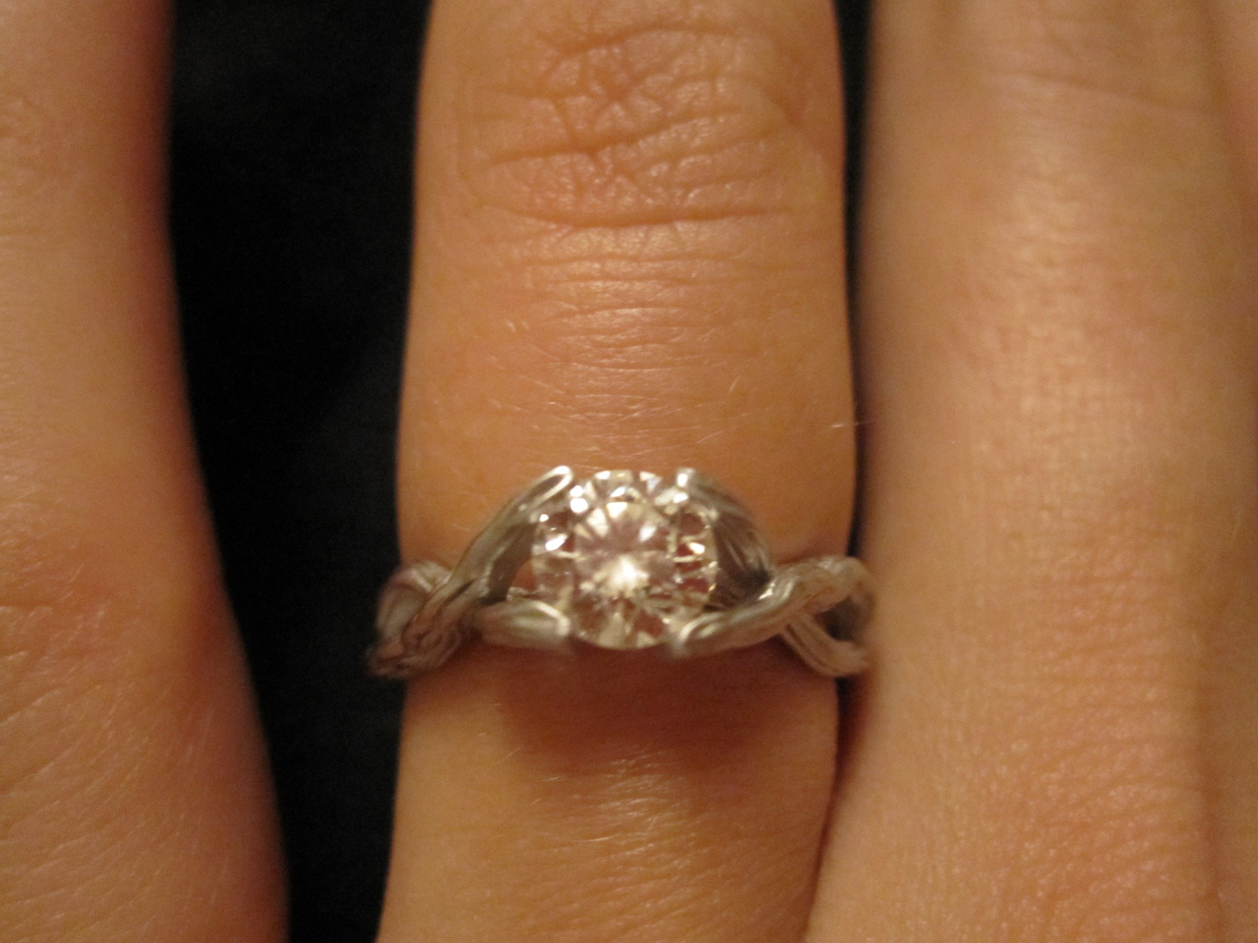 Tree Branch Ring Tree Branch Engagement Ring