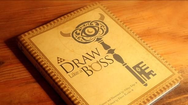 Story-driven art book returns to make drawing accessible