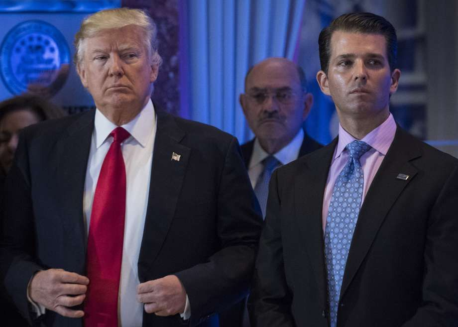 Trump dictated son's misleading statement on meeting with Russian lawyer