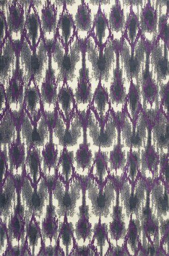 "Allure Grey / Purple Horizon Rug Rug Size: 3'3"" x 5'3"" KAS Oriental Rugs http://www.amazon.com/dp/B00E49BEOY/ref=cm_sw_r_pi_dp_BowXub0T4FYMV"