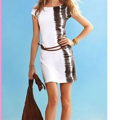 Clubwear bodycon summer sexy women dress,free belt