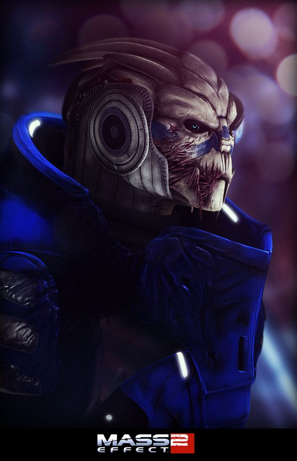 Garrus Vakarian II by =K4ll0 on deviantART