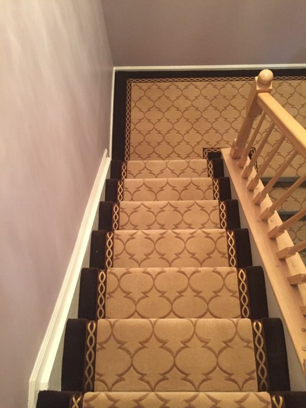 Best Beautiful Stair Runner Installed By Just Carpets 400 x 300