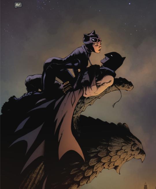 3) Tumblr | Gotham Romance | Batman painting, Batman art, Batman comics