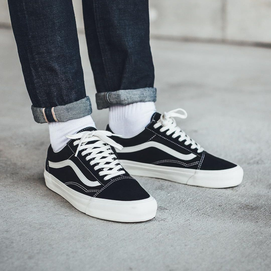 edecfd939d4 VANS Old Skool OG Black Marshmallow