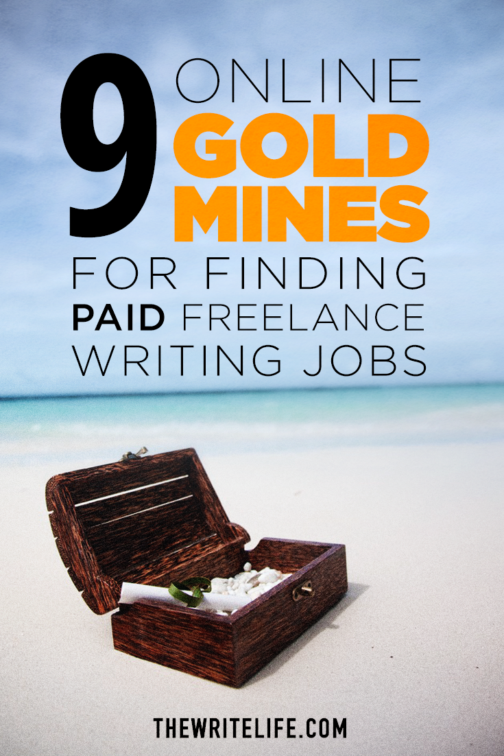 online gold mines for finding paid lance writing jobs to get