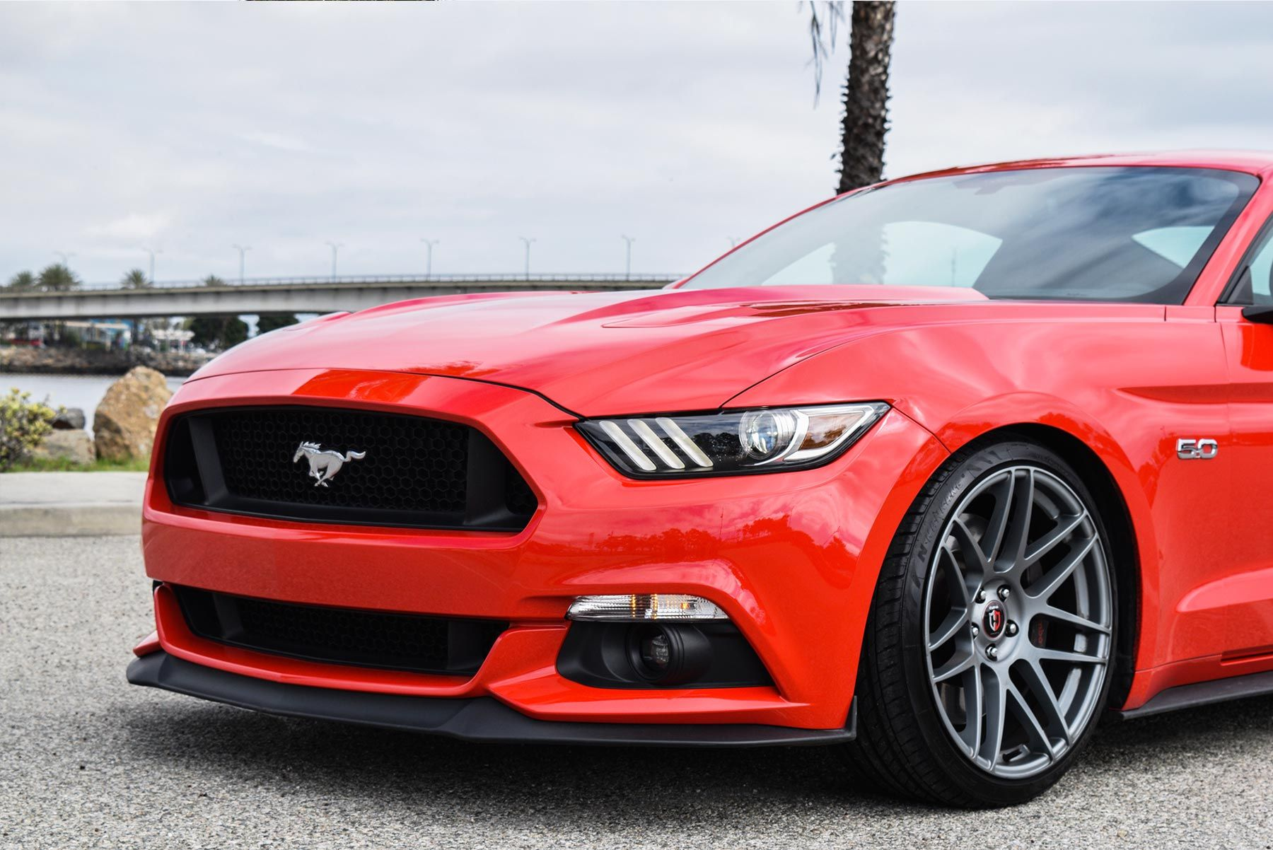 Curva Concepts C300 Staggered Wheels On A Mustang Gt Velg