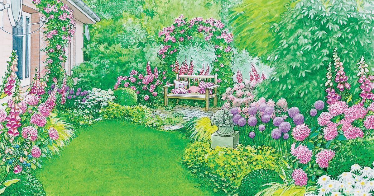 In  vielen Gärten gibt es abgeschiedene Ecken, die vor sich hin vegetieren und wenig einladend wirken. Wir haben zwei Gestaltungsvorschläge.