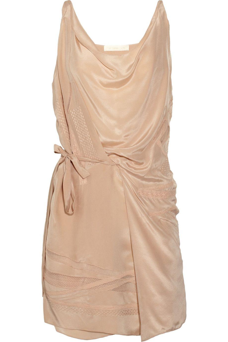 fa8e87e7600 Vanessa Bruno Silk-charmeuse dress - 65% Off Now at THE OUTNET ...