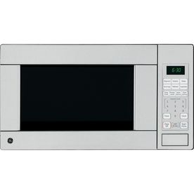 Ge 1 1 Cu Ft 1 100 Watt Countertop Microwave Stainless