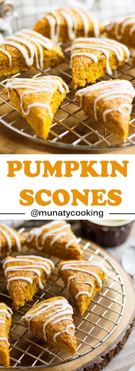 Pumpkin Scones Recipe - Munaty Cooking