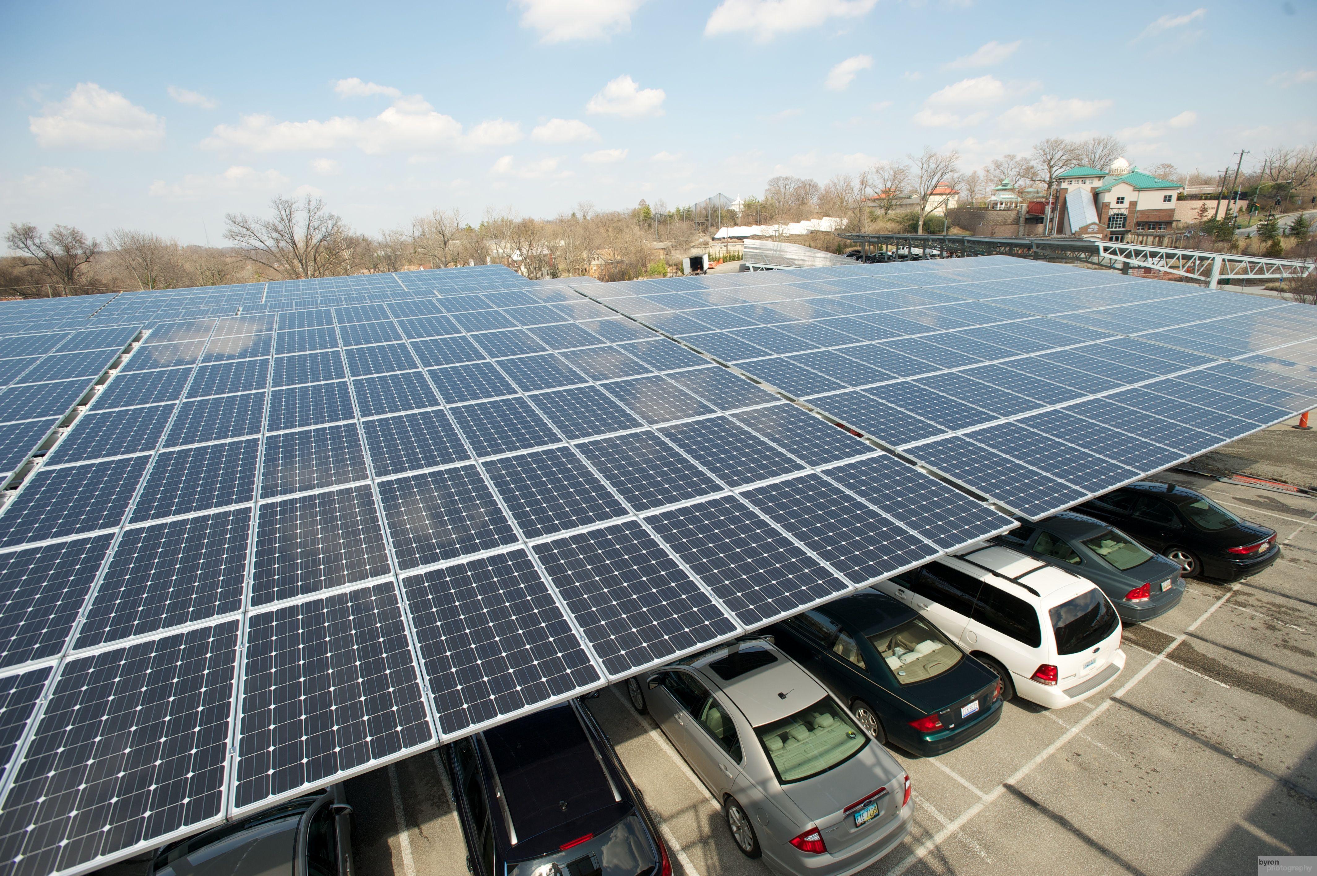 Cincinatti Zoo Car Port Solar Projects Solar Power System Solar Panels
