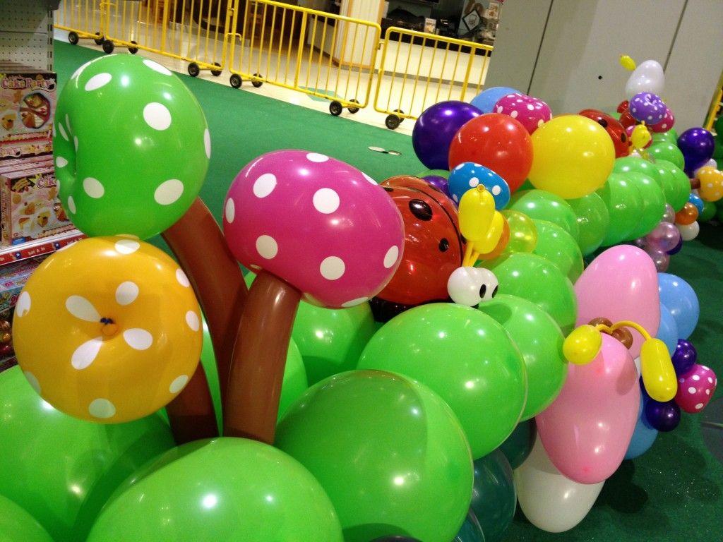 Singapore Balloon Mushroom Balloons, Balloon decorations