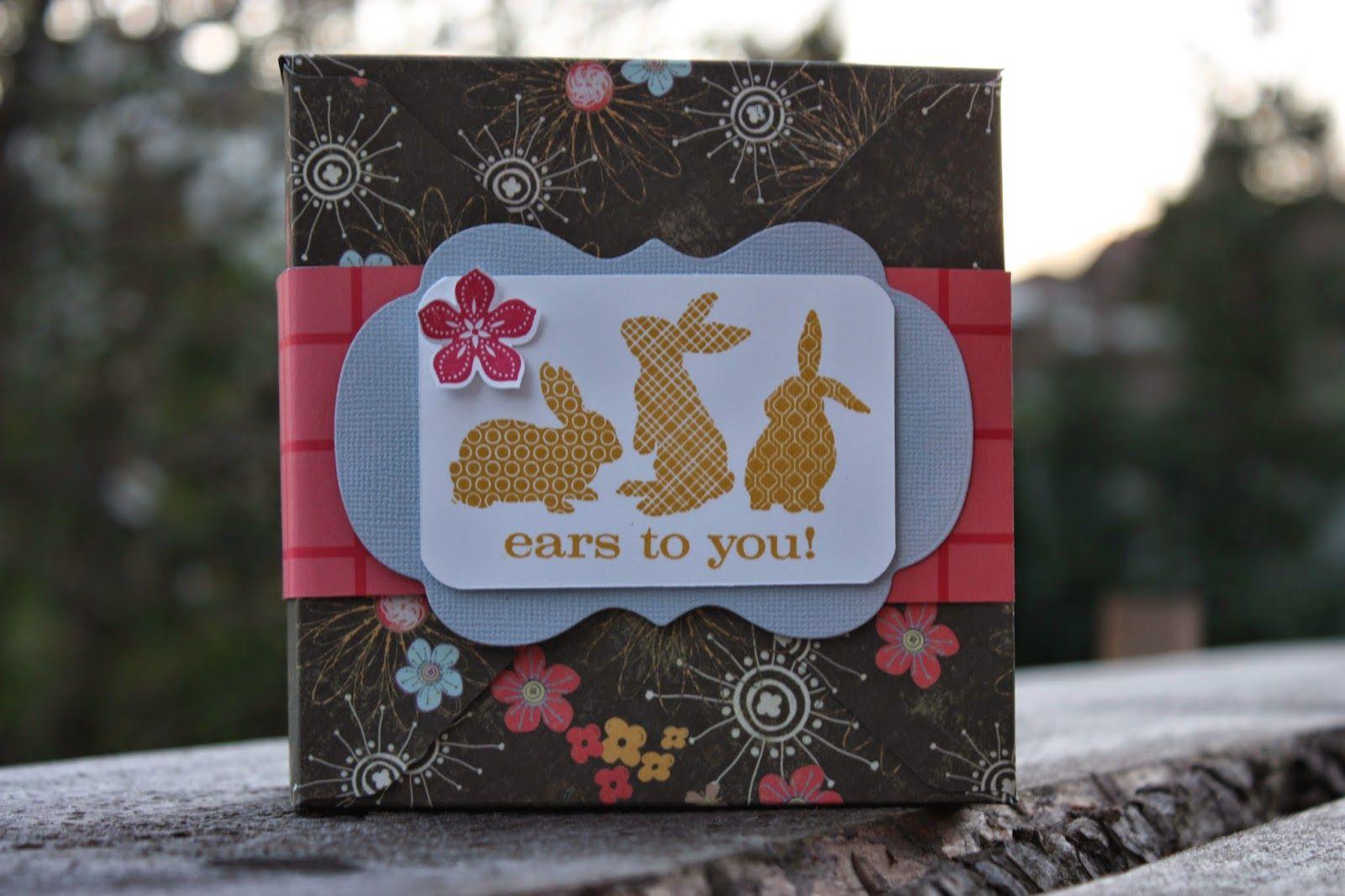 Polly kreativ: Osterverpackungen - Box mit dem Envelope Punch Board