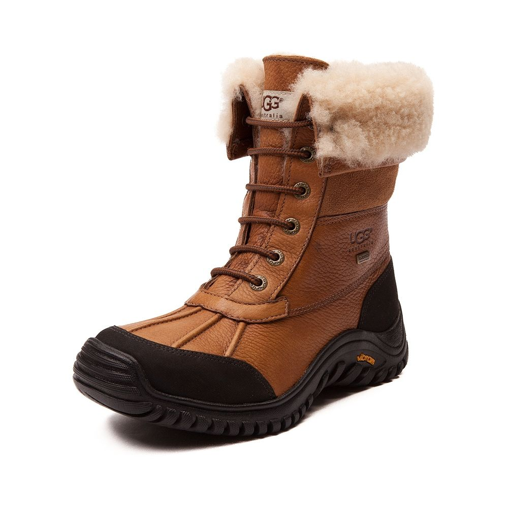 Womens UGG® Adirondack II Boot size Want to buy red shoe laces separately.