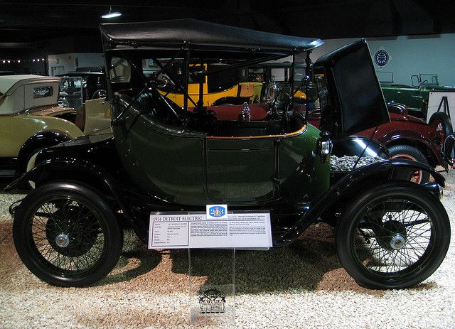 1914 Detroit Electric Car Electric Cars Antique Cars Retro Cars