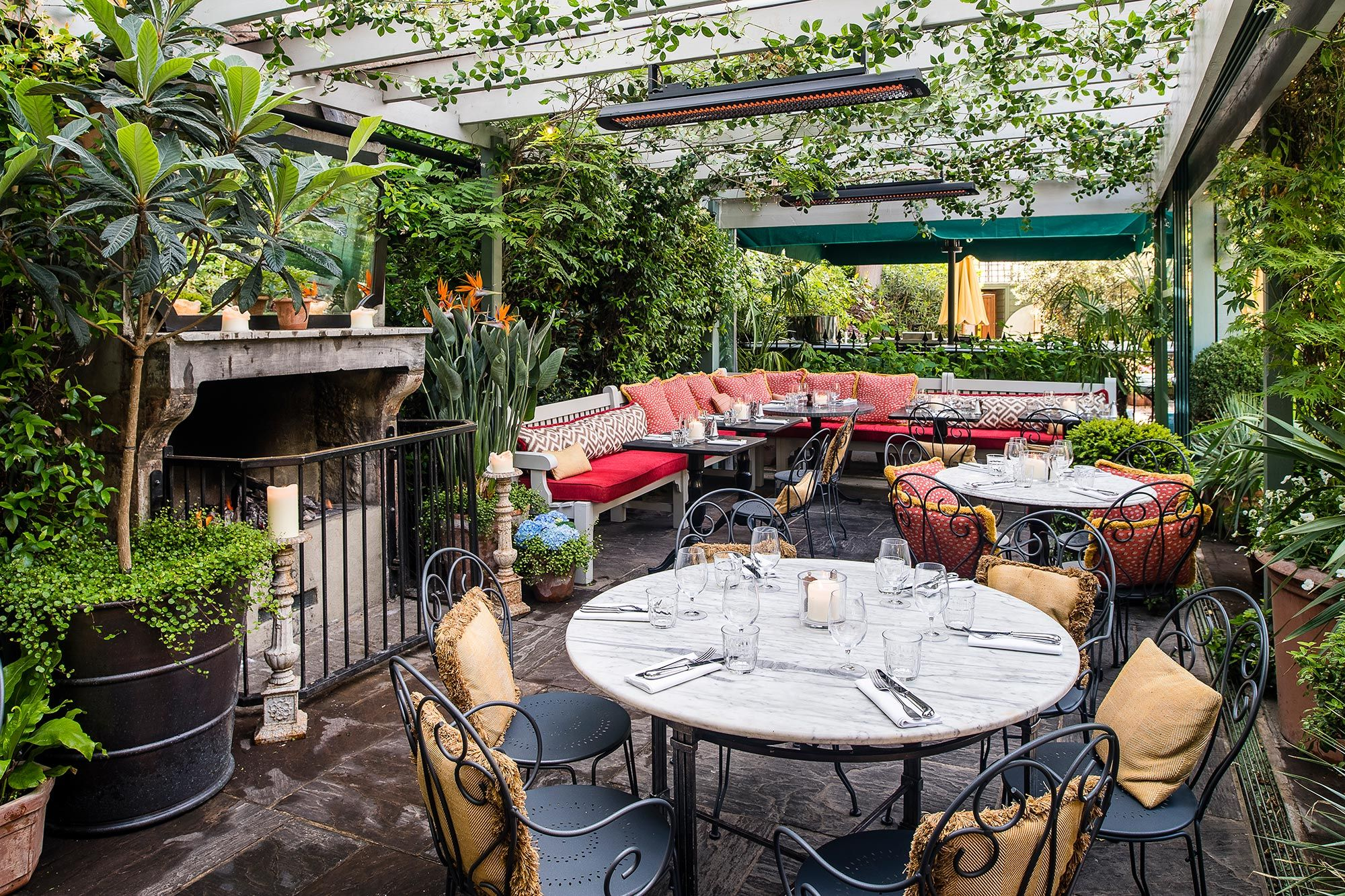 Outdoor Seatings at The Ivy Chelsea Garden The Ivy