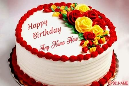 Cake Birthday Beautiful Generator With Name