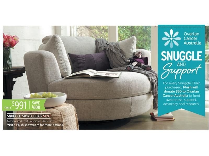 Awesome Plush Snuggle Swivel Chair Decor Comfortable Living Room Bralicious Painted Fabric Chair Ideas Braliciousco