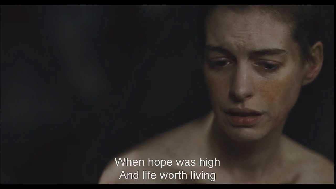 Les Miserables 2012 720p Mkv I Dreamed A Dream Fantine With