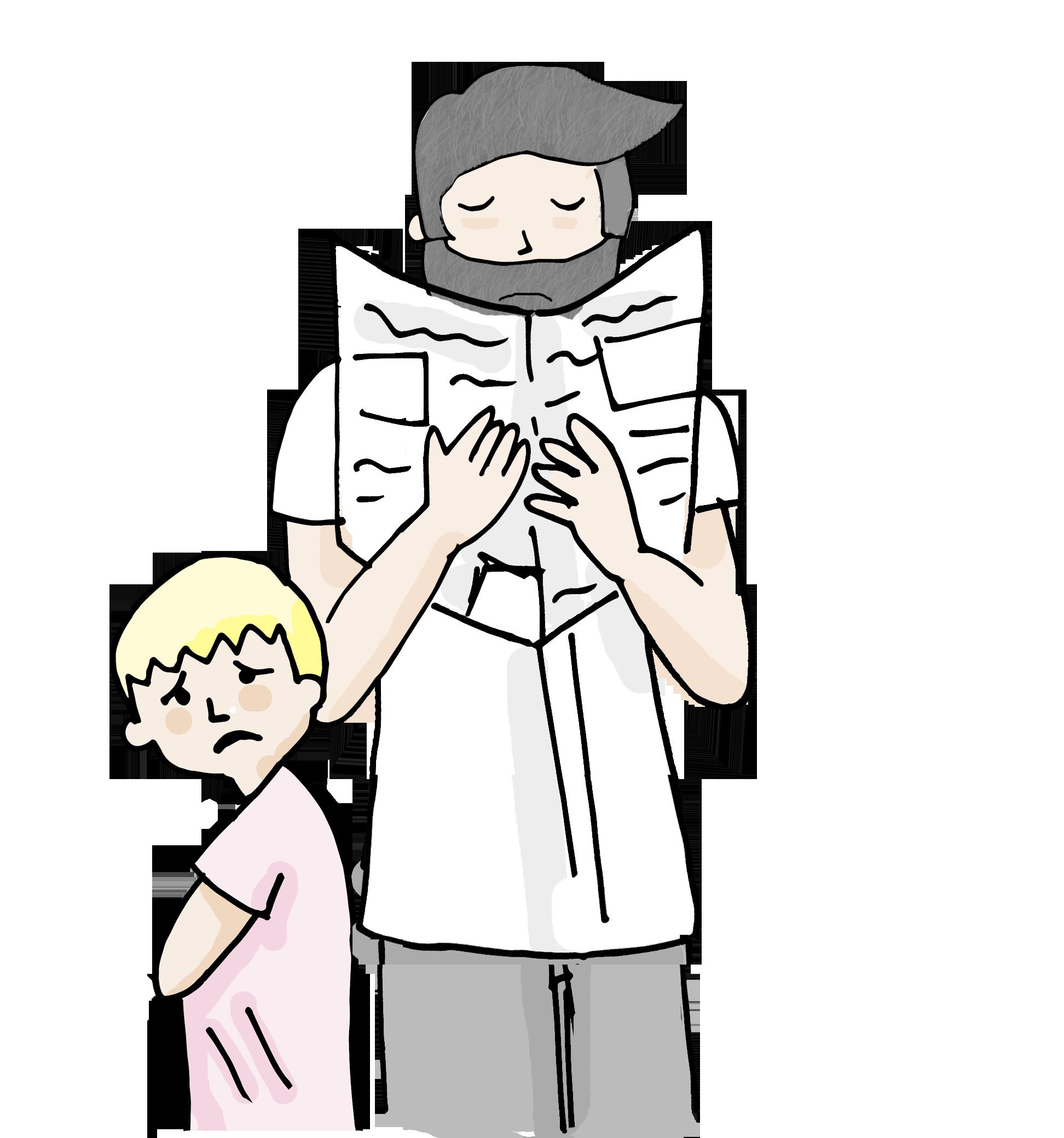 padre ausente ayudarte estudio psicologia
