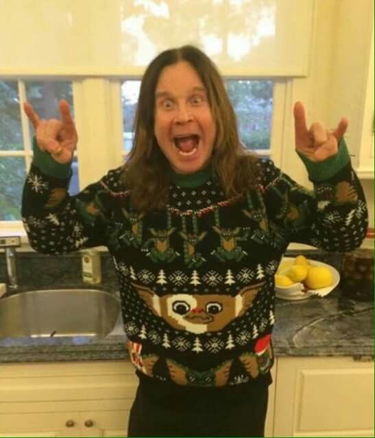 Heavy Metal Christmas Sweater 2019 Rockin that ugly Christmas sweater | Metal Christmas in 2019