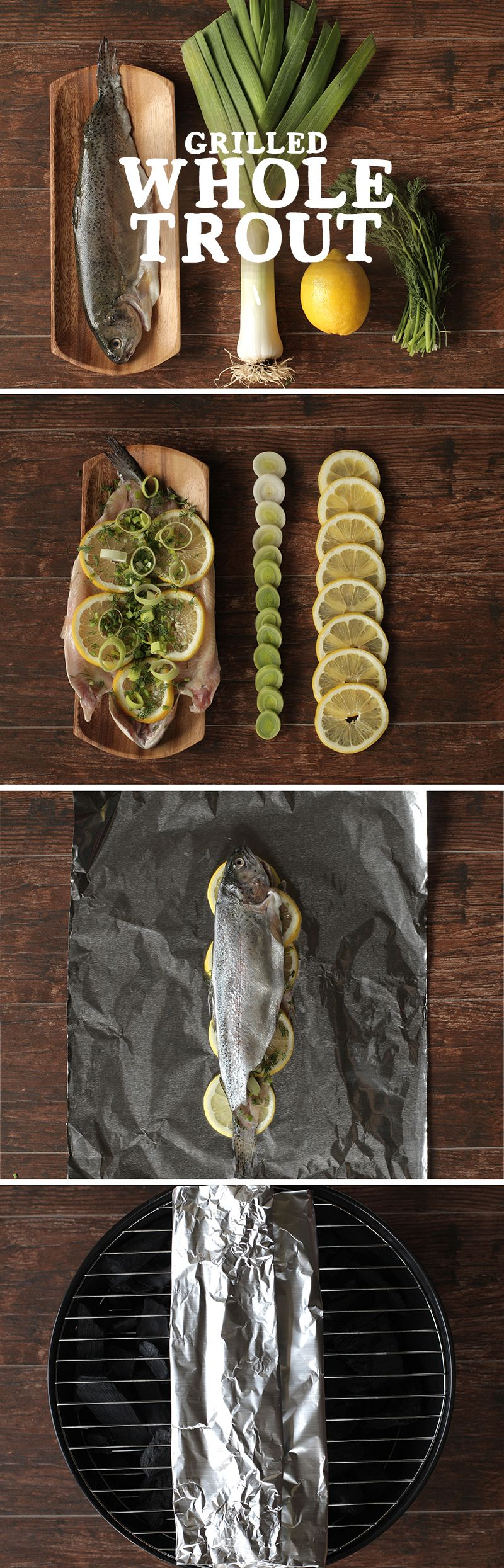 recipe: grilled whole trout foil packets [23]