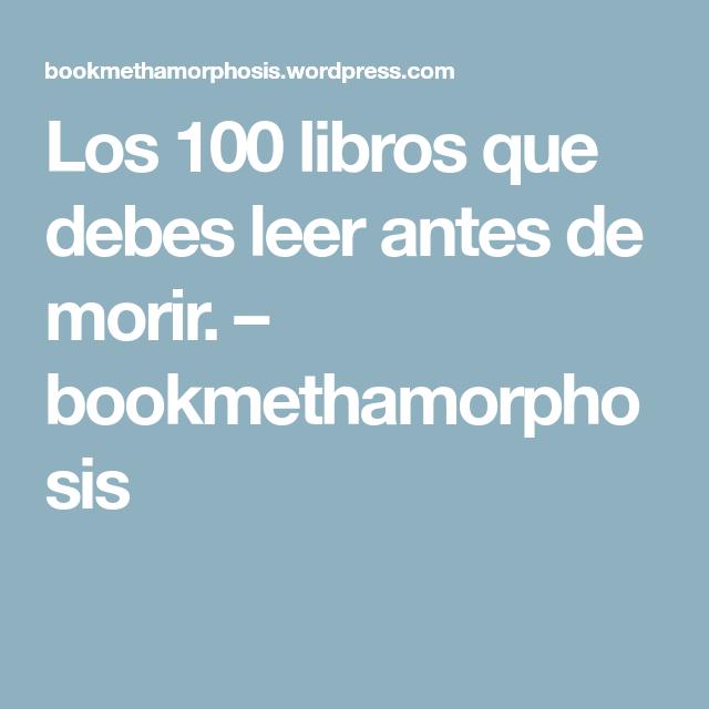 Pin En Libros
