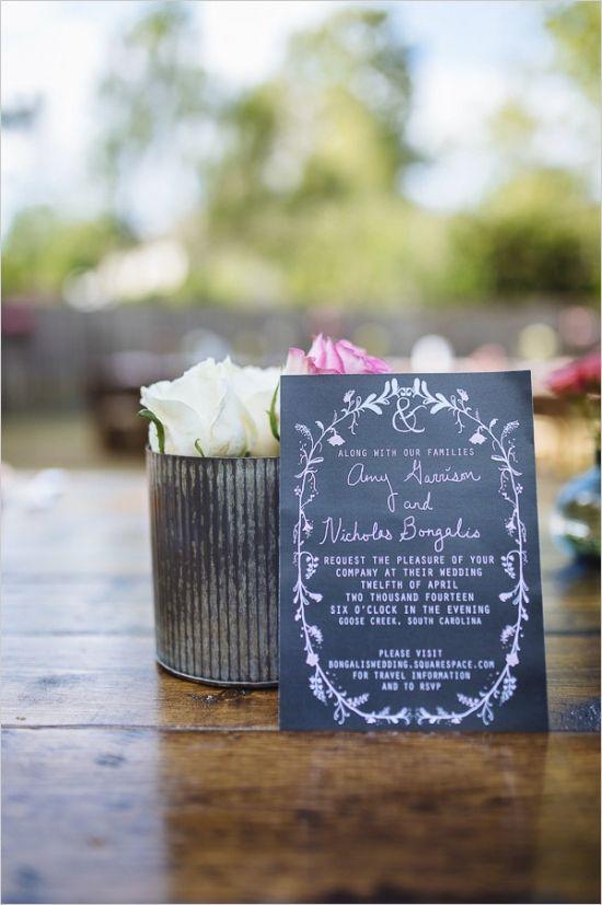 Hip Backyard Wedding | Backyard wedding invitations ...