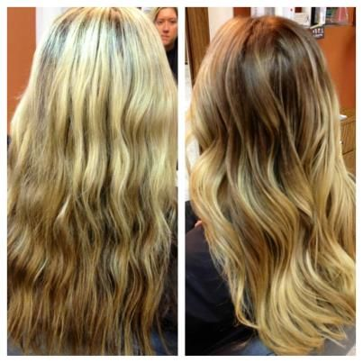 Ombre - Before & After